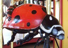 Kansas City Zoo Carousel  Carousel Works Ladybug