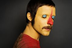 Creepy Face-Painted Portraits - The Guim Tio & Blancadoble Series is Disturbingly Mischievous (GALLERY) Creepy Faces, Make Up Gesicht, Club Kids, Wow Art, Makeup Designs, Weird And Wonderful, Weird World, Face Art, Face And Body