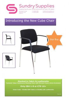 Page Not Found - Sundry Supplies Ltd Cube Chair, Conference Meeting, Frame Arms, Office And School Supplies
