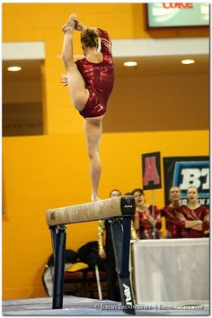 University of Minnesota women's gymnastics: Dusti Russell