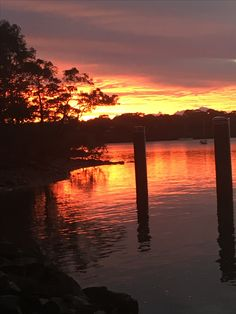 The colourful sunrise on Macleay Island June 2016 - Photo taken with my mobile phone - no filters used and no editing. It was just spectacular Beautiful Sunrise, Bird Watching, Kayaking, Filters, June, Swimming, Island, Beach, Outdoor