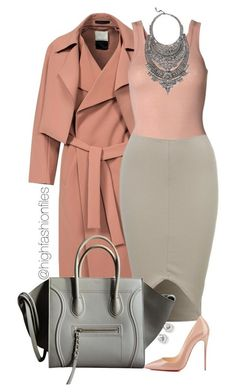 """""""!"""" by highfashionfiles on Polyvore featuring By Malene Birger, Christian Louboutin and DYLANLEX"""