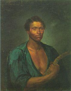 José Correia de Lima - Retrato do Intrépido Marinheiro Simão – s/d - Óleo Sobre tela – 93,1 x 72,6cm - Museu Nacional de Belas Artes – RJ