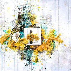 "Mixed Media & Art: June challenge - ""Emotional outburst"""