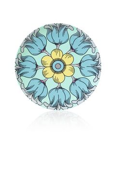 Step into a garden filled with beautiful flowers. Dinner Plate made of durable break resistant Melamine that measures in diameter Non-toxic (BPA f  sc 1 st  Pinterest & fun colorful and modern Melamine Plates Platters and Ceramic Mugs ...