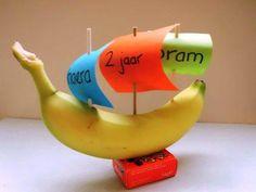 Bananenboot Kids Birthday Treats, Kids Party Treats, Birthday Parties, Snacks Kids, Childrens Meals, School Treats, Pirate Birthday, Childcare, Diy For Kids