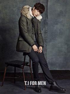 Korean Fashion Winter, Korean Fashion Men, Korean Men, Korean Star, Asian Men, Fall Fashion, Korean Celebrities, Korean Actors, Seo Kang Jun