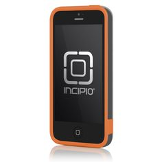 Great color for the fall. Incipio Dual PRO for iPhone 5/5S - Retail Packaging - Graphite Gray / Sunkissed Orange $12.95