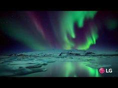LG 4K eye of storm | LG 4K demo | 4k ultra hd video | LG OLED display | vivid colours - YouTube Lg 4k, Lg Oled, Vivid Colors, Colours, Nature Gif, Hd Video, Northern Lights, Display, Eyes