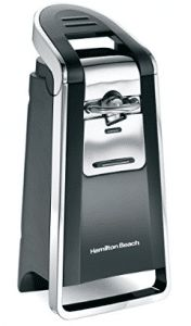 Hamilton Beach Smooth Touch Electric Automatic Can Opener with Easy Push Down Lever, Use With All Standard-Size and Pop-Top Lids, Stainless Steel Kitchen Scissors, Black and Chrome Specialty Appliances, Small Appliances, Kitchen Appliances, Kitchen Pantry Design, Kitchen Styling, Hamilton Beach, Stainless Steel Kitchen, Walk In Pantry, Pantry Room