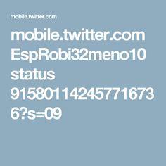 mobile.twitter.com EspRobi32meno10 status 915801142457716736?s=09