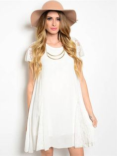 All You Need Is Love Dress, White | DazyLu