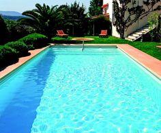 Piscine rectangle - Swimming pool     http://www.irrijardin.fr/boutique/piscine-accessoires