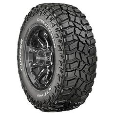 These off-road tires will be a huge help in keeping you from getting stuck if you venture a little further off the beaten path. Truck Rims And Tires, Custom Rims And Tires, Rims For Cars, Wheels And Tires, Car Wheels, Toyota 4, Toyota Tacoma, Black And Chrome Rims, Ford F150 Lariat