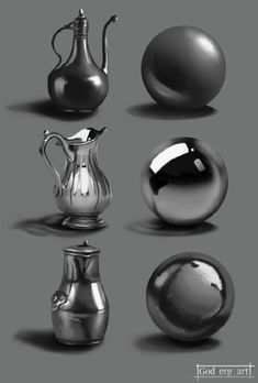 Hey what is up guys. I needed to practice on painting some metal textures so I don't get . I did Iron, chrome and copper .have a nice one guys. Digital Painting Tutorials, Digital Art Tutorial, Art Tutorials, Metal Drawing, Texture Drawing, Metal Texture, Learn Art, Art Studies, Drawing Techniques