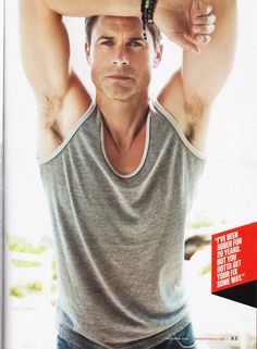 I do not care that he is older than my dad, Rob Lowe is hot