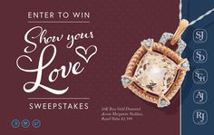 Win a 10K Rose Gold Diamond Accent Morganite Necklace, Retail Value $1,599 from Samuels Jewelers!