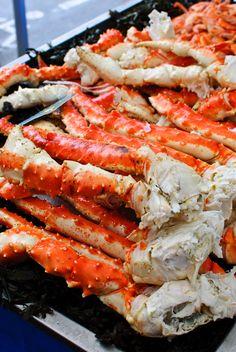 Alaskan King Crab.... MMMMM All you can eat :)