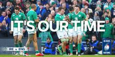 It's Our Time, Irish Rugby, Six Nations, Guinness, Ireland, Baseball Cards, Life, Irish