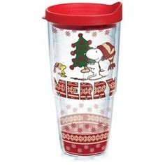 Peanuts® Holiday 2015 24-oz Tervis® Tumbler with Lid,