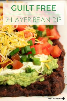 Add this recipe to your Cinco de Mayo menu and you'll be sure to please! A few easy swaps leaves this recipe with far fewer calories than traditional seven layer dip without sacrificing any of the flavor.