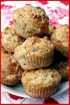 Kinkku-aurajuusto muffinit - Ullanunelma Savoury Baking, No Bake Cake, Good Food, Frozen, Food And Drink, Lunch, Snacks, Dinner, Cooking