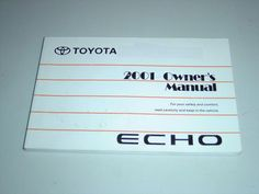 2001 honda cr v owners manual book guide owners manuals rh pinterest com Toyota Echo 2001 Carburetor Diagram 2001 Toyota Echo Car