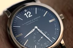 """The SAX-O-MAT paired with pure """"bauhaus"""" - A.Lange & Sohne"""