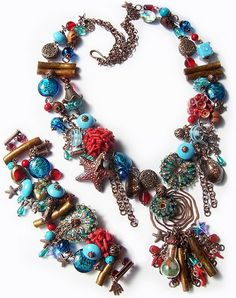 Unique jewellery by Yuliya Galushchak   Beads Magic