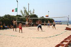 tornei di beach-volley in spiaggia