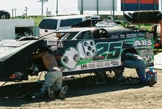 Jason Feger's car, few years back, Kankakee.