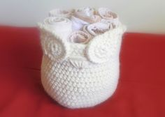 video tutorial for the eyes of my owl basket (free pattern)