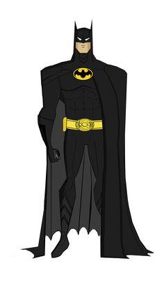 Updated Batman Returns JLU Style by Alexbadass on DeviantArt Batman Poster, Batman Artwork, Batman Wallpaper, I Am Batman, Batman Suit, Lego Batman, Mundo Superman, Keaton Batman, Norman Rockwell Paintings