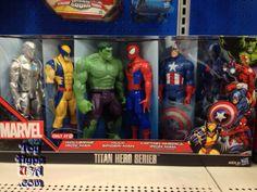 Marvel Target Exclusive Titan Hero Series 6 Pack Hits U.S. Retail