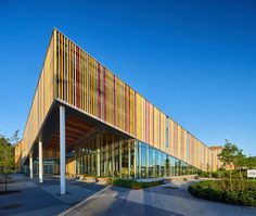 Image 1 of 41 from gallery of Albion Library / Perkins+Will Canada. Photograph by Michael Muraz