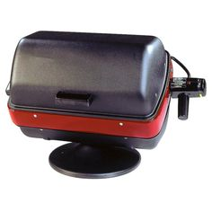 Americana Satin Black Electric Grill at Lowe's. Americana electric table top grill with element. Best Outdoor Electric Grill, Electric Bbq Grill, Electric Grills, Infrared Grills, Grill Sale, Propane Gas Grill, Portable Grill, Cooking Temperatures, Grilling