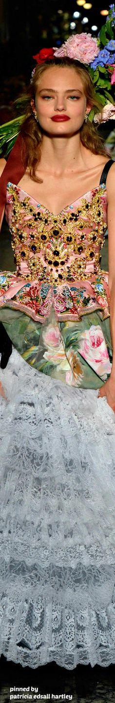 Dolce & Gabbana Alta Moda Fall 2016