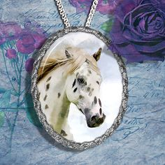 Appaloosa Horse Jewelry Pendant Necklace or by NobilityCatsandPets, $34.90