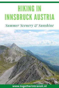Hiking In Innsbruck is a must-see and top experience for all who love hiking. With beautiful summer weather, the top of the Innsbruck mountains are a highlight to all visiting this pretty location in Austria. Hiking Adventure | Hiking In Innsbruck | Weekend In Innsbruck | Austria Mountains | Innsbruck Austria Summer | Summer in Austria | Hiking In the Mountains Europe Travel Outfits, Europe Travel Guide, Backpacking Europe, Sweden Travel, Austria Travel, Wachau Valley, Worldwide Travel, Future Travel, Travel Aesthetic
