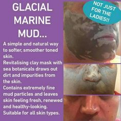 The fantastic mud mask is not just for you lovely ladies, guys have taken a shine to it aswell...now they are proper men