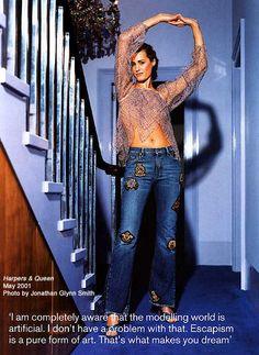 LOVE the way she puts it!  yasmin le bon 1994   THE IRANIAN: Model Yasmin Parvaneh Le Bon