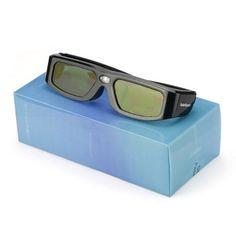 Sainsonic Zodiac Serie 904 Wiederaufladbare 3D-Shutterbrille Für Epson Acer NEC BenQ eMachines LG Optoma Vivitek 3D-Ready DLP Projektoren (4 Stücke) - http://kameras-kaufen.de/sainsonic/sainsonic-zodiac-serie-904-wiederaufladbare-3d-4