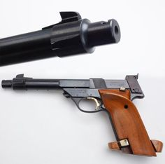 SUPERMATIC TROPHY: This semi-automatic pistol is just one of the many variations of target pistols offered by High Standard. Fitted with grips that emulated the angle of the military's M1911 pistols, these fine match pistols were frequently seen in the Loading that magazine is a pain! Get your Magazine speedloader today! http://www.amazon.com/shops/raeind