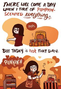 Totally me in Bath and Body Works! I can never get tired of pumpkin!