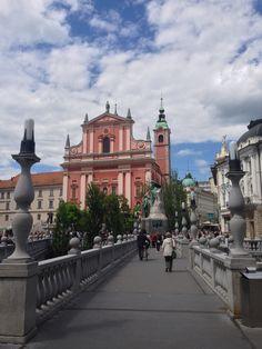 Любляна, Словения. Ljubljana, Slovenia.
