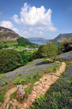 Shot overlooking Glenridding and Ullswater in the lake district national park in Cumbria, England. Great Places, Places To Go, Beautiful Places, Amazing Places, Cumbria, Lake District, Paradise Places, Scenery Pictures, British Countryside