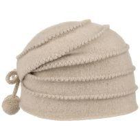 Sombrero femenino y cálido de fieltro con ribetes. Gorro de Lana Soft by McBURN con una entrega rápida garantizada y 100 días de derecho de devolución.