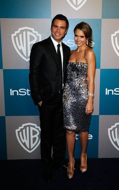 Jessica Alba and Cash Warren - at the 2012 Golden Globes Instyle afterparty.
