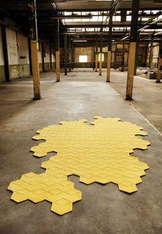 Christian Fischbacher carpet METAMORPHOSE