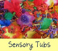 Check out all these sensory tub ideas! And some great playdoh extension ideas too!!! @maggim Bailey